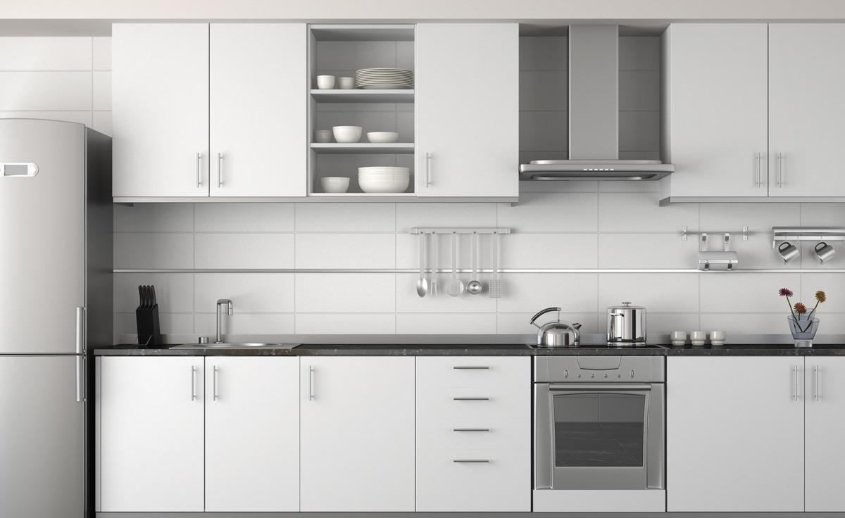 Wysokości blatów roboczych w kuchni