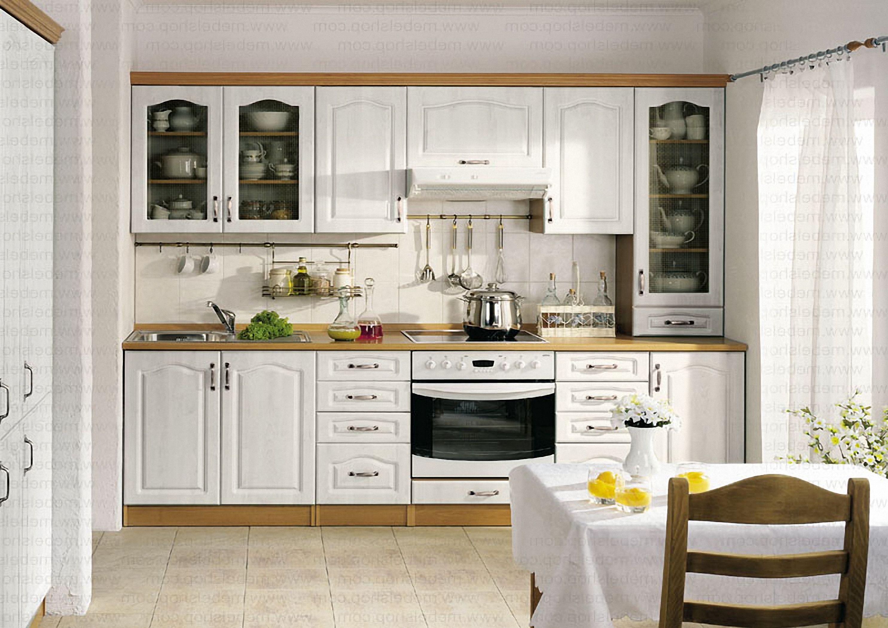 Kuchnia Prowansalska Ciepłe I Przytulne Wnętrze